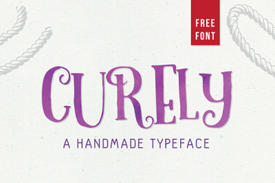 Free Font: Curely with bonus included