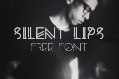 FREE Silent Lips Font