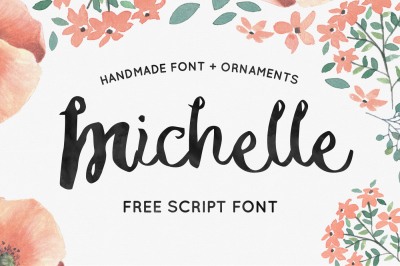 FREE Michelle font