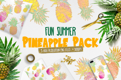 FREE Fun Summer Pineapple Pack