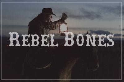 FREE Font: Rebel Bones