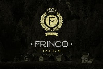 FREE Frinco Font