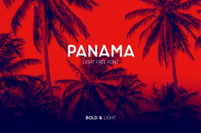 FREE Panama Font
