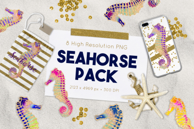FREE Seahorse Graphics Pack