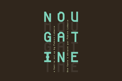 FREE Font: Nougatine - Personal Use Only