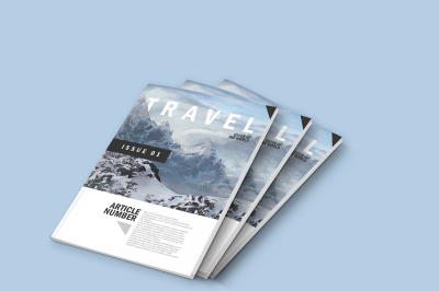FREE PSD Magazine Mock up