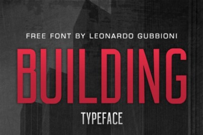 FREE Building Font