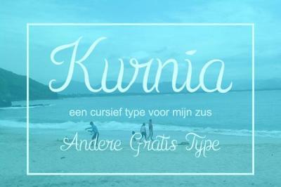 FREE Font: Kurnia Typeface