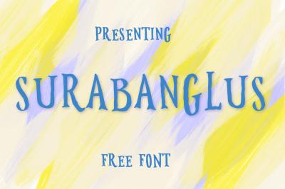 FREE Font: Surabanglus Typeface