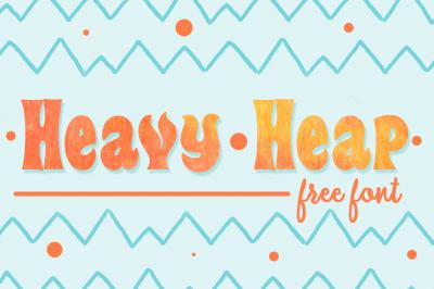 FREE Font: Heavy Heap
