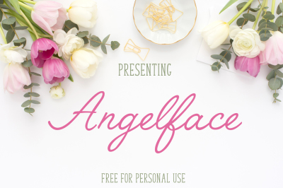 FREE Font: Angelface - Personal Use Only
