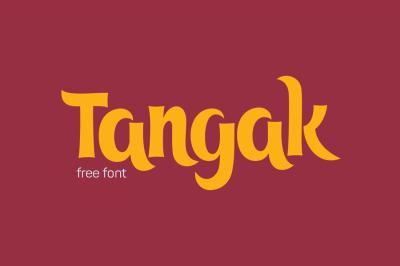 FREE Font: Tangak