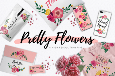 FREE Pretty Flowers Pack