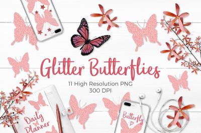 FREE Glitter Butterflies Pack