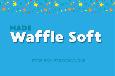FREE Font: Waffle Soft - Personal Use Only