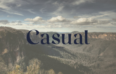 FREE Casual Font