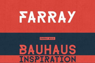 FREE Farray Font