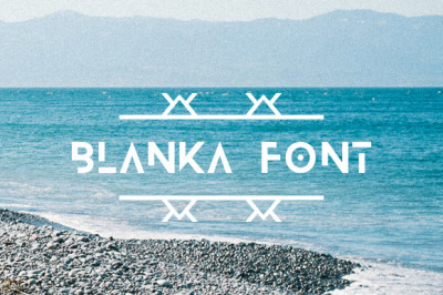 FREE Blanka Font