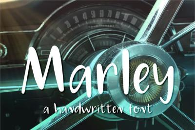 Free Font: Marley - Personal Use Only