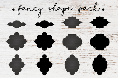 FREE Fancy Shapes Pack