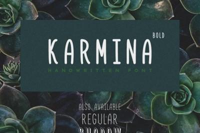 FREE Karmina Bold Font