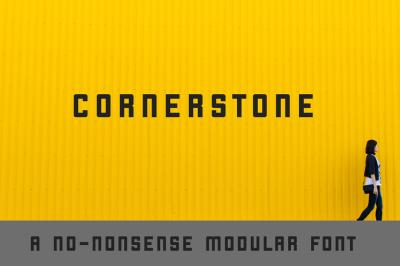FREE Font: Cornerstone
