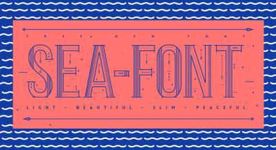 FREE Sea Font