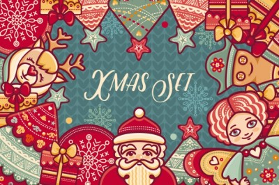 FREE Colourful Christmas Set