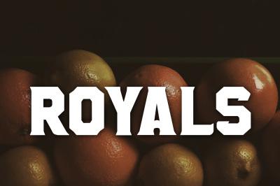FREE Royals Font