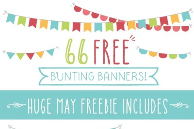 66 Bunting Banners
