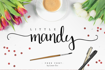 FREE Font: Little Mandy - Personal Use only