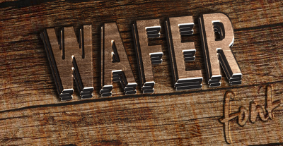 FREE Wafer font