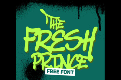 FREE Font: Fresh Prince - Personal Use only