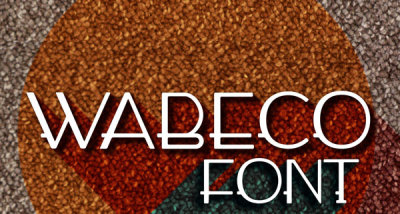FREE Wabeco Font