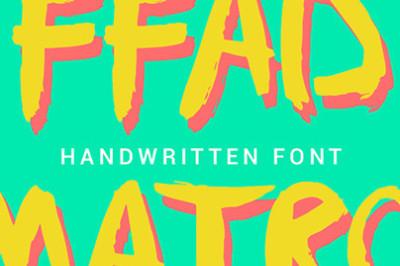 FREE FFAD Font
