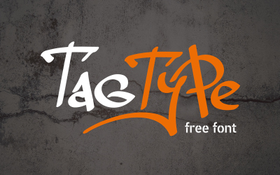 FREE Font: Tag Type - Personal Use Only