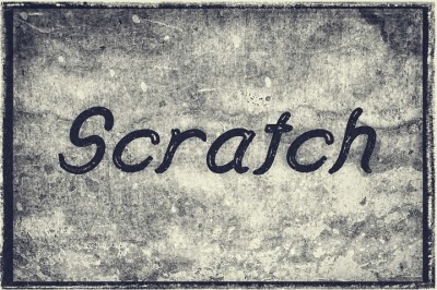 FREE Scratch Typeface