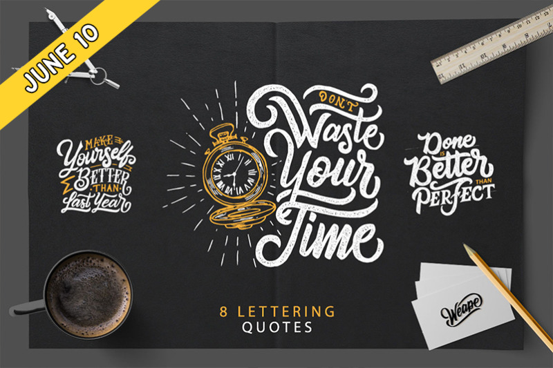 FREE Lettering Qoute