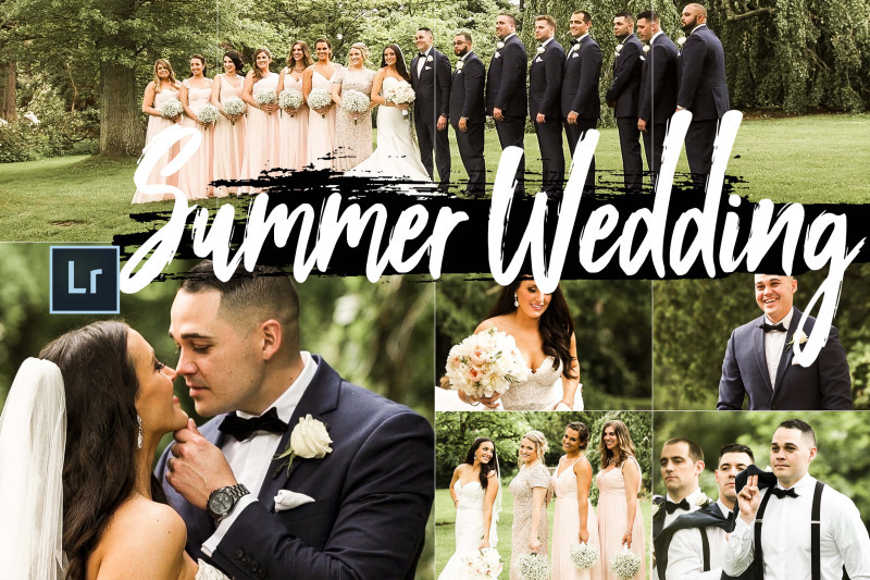 FREE Summer Wedding Theme LR Collection By TheHungryJPEG