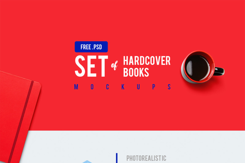 Open Book Mockup Psd Free Download